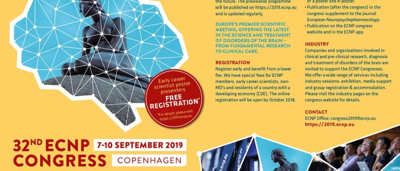 ECNP Congress 2019 – The Danish Society for Neuroscience